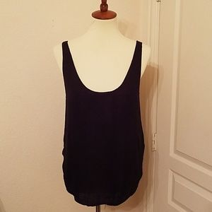 Urban Outfitters Linen Tank Top